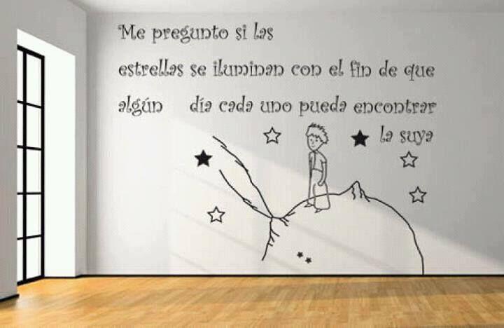 """""""Me pregunto si las estrellas se iluminan con el fin de que algún día cada uno pueda encontrar la suya"""""""