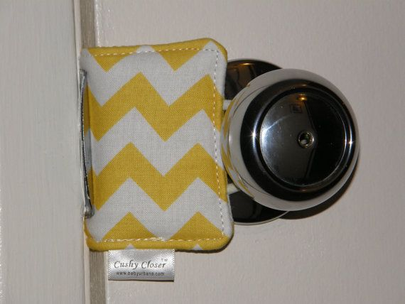 The Original Cushy Closer Door Cushion  Yellow & by BabyUrbana, $9.95
