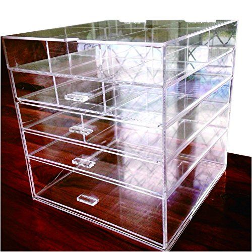 CYacrylic Large Beauty Cube 5 Tier Drawers Acrylic Cosmet... https://www.amazon.com/dp/B01H1VYARO/ref=cm_sw_r_pi_dp_x_TLs.xb5P48PA1
