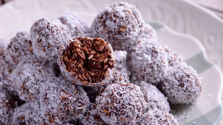 Bolas de chocolate (Chokladbollar) - Nina Olsson - Receta - Canal Cocina