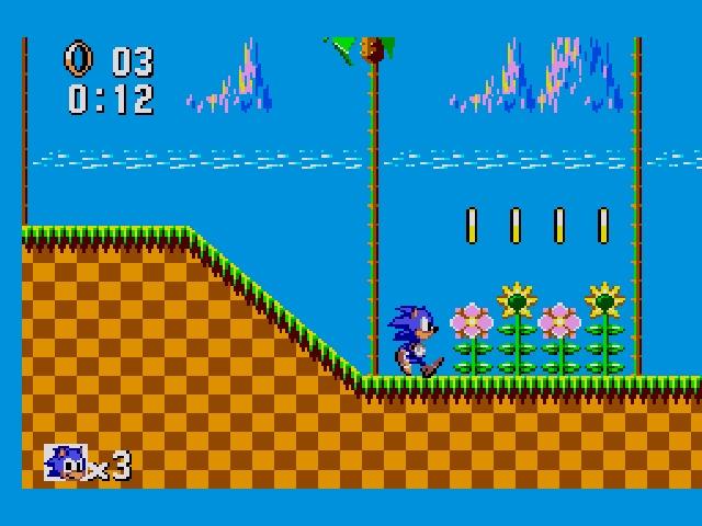 Sonic the Hedgehog, Sega Master System