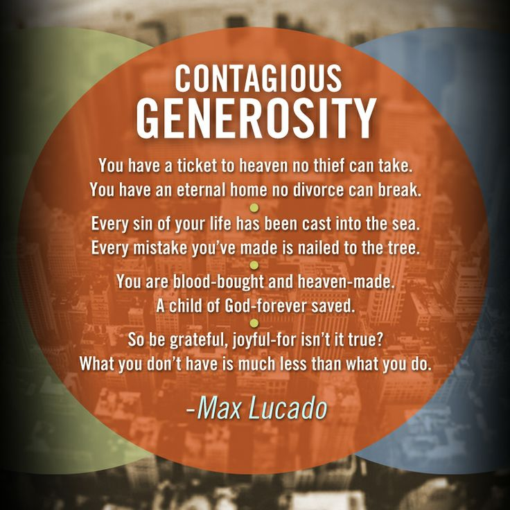 Inspirational Quotes About Positive: Bible Quotes About Generosity. QuotesGram