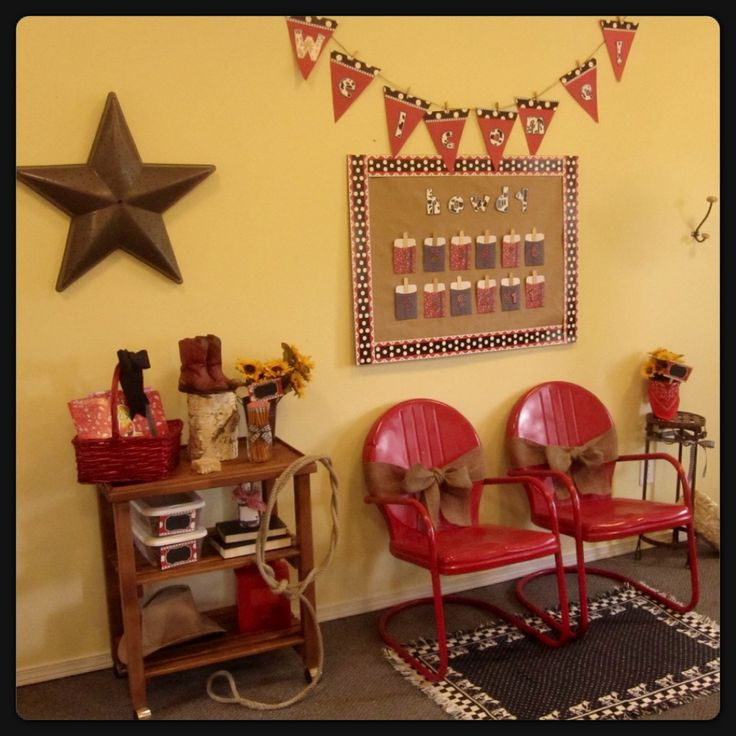 Western Classroom Decor : Images about bulletin board on pinterest red