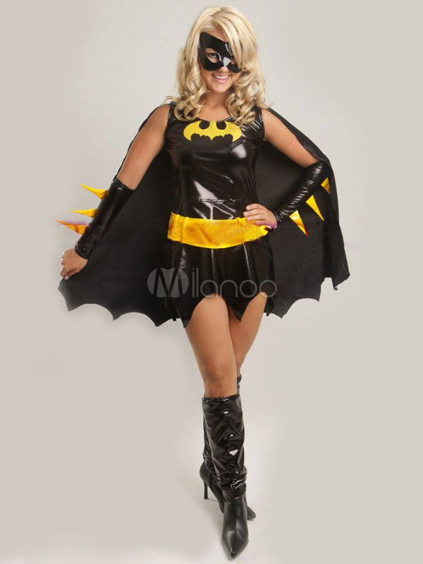 Halloween Batwoman Costume - Milanoo.com