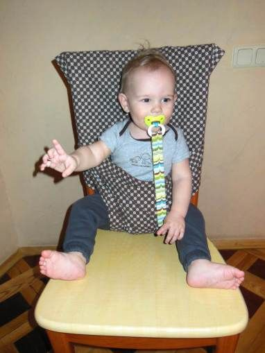 Baby Travel Chair Harness (with link to similar Canadian Living pattern)
