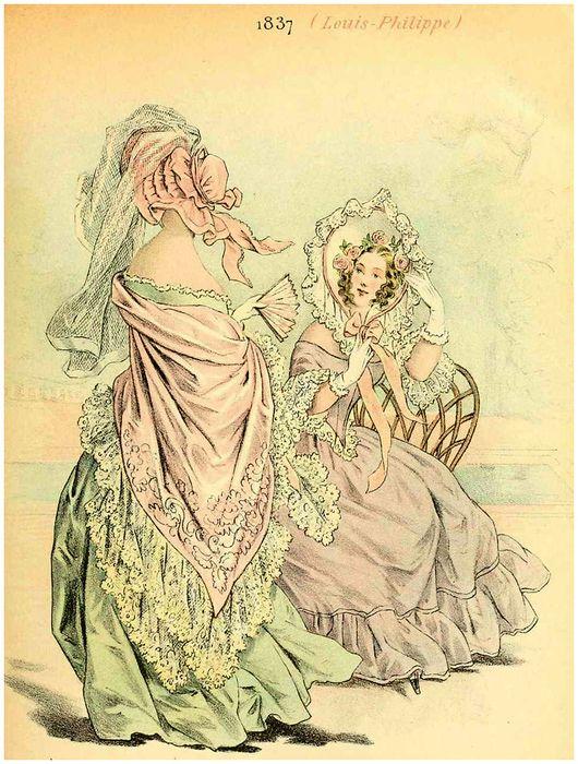 Мода Франции-XIX век.. Обсуждение на LiveInternet - Российский Сервис Онлайн-Дневников