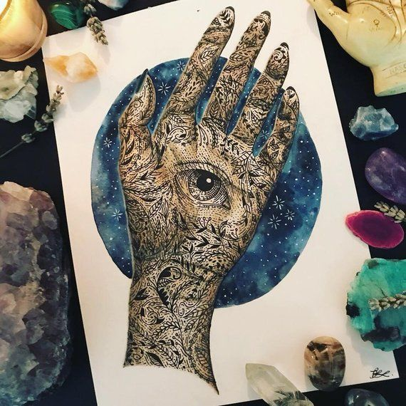 Pin By Grace Baldino On Acofas Hand Palm Tattoos A Court Of