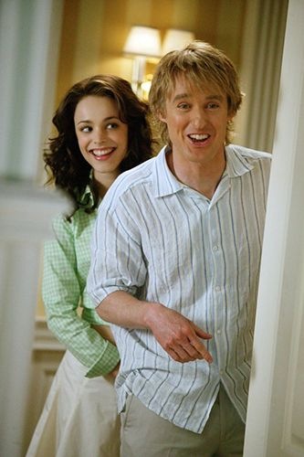 13 On-Screen Couples Who Have ZERO Chemistry - Owen Wilson and Rachel McAdams in Wedding Crashers. (Again, haven't seen Owen Wilson have chemistry with any FEMALE on-screen)