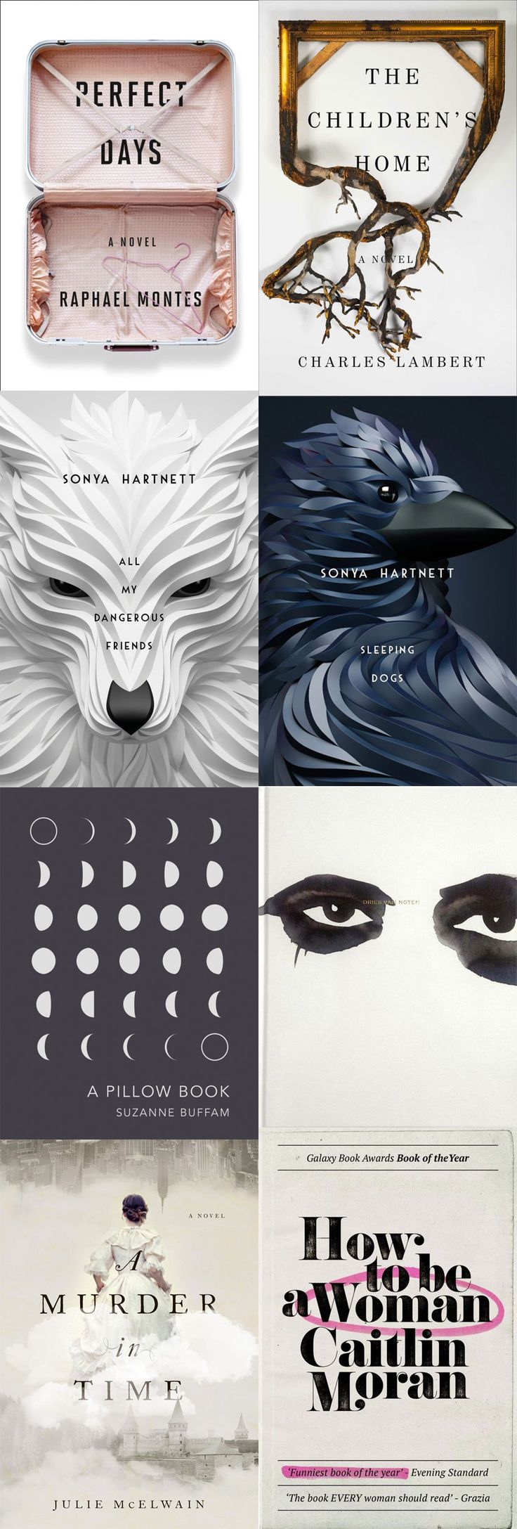 8 LOVELY BOOK COVERS FROM LAST YEAR