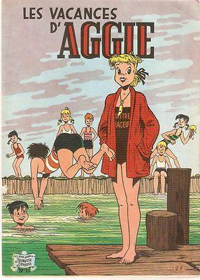 Aggie NO10 LES Vacances D'Aggie 3EME Trim 1971 Jeunesse Joyeuse TBE