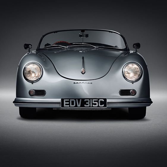 "The 356 Speedster. Photographed and presented by Julian Calverley @jccalverley - - I recently had the pleasure of photographing Nick Schon's beautiful Porsche 356 Speedster. - - I asked Nick if he'd share some of the car's history.. ""My 356 started life as a restored 1966 chassis I bought in 2009. I had always loved the futuristic, unusual design, so ahead of it's time. It was designed by Ferdinand Porsche just after the war, and when other car builders were building big, water cooled, front…"