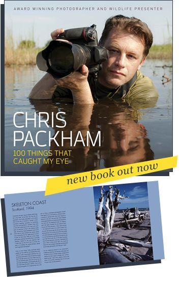 """Chris Packham's new photography book """"100 Things..."""""""