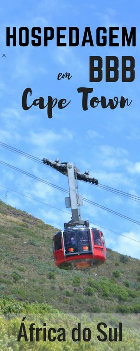 Dica de hospedagem BBB e bem localizada em Cape Town. #CapeTown #AfricaDoSul #CidadeDoCabo