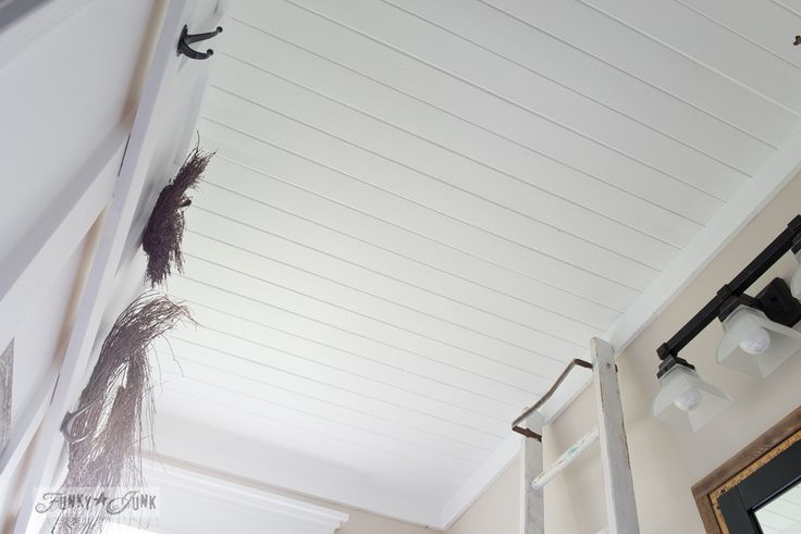 How to Plank Over a Popcorn Ceiling... Instantly!