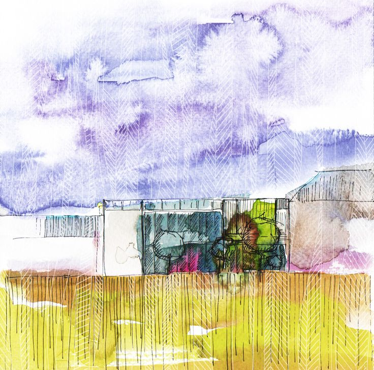 GREENPoINT .  watercolour . ink . ada k.a