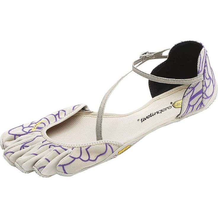 Vibram Five Fingers Women's Vi-S Shoe - 36 - Beige / Royal Purple