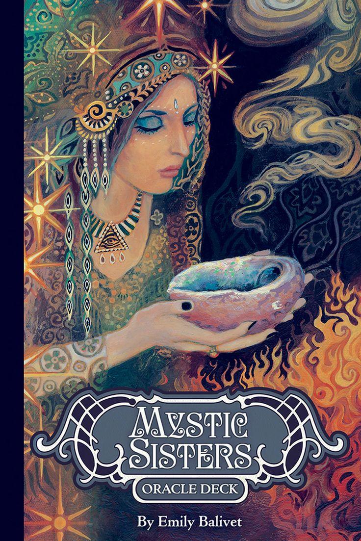 Mystic sisters oracle deck tarot card decks mystic