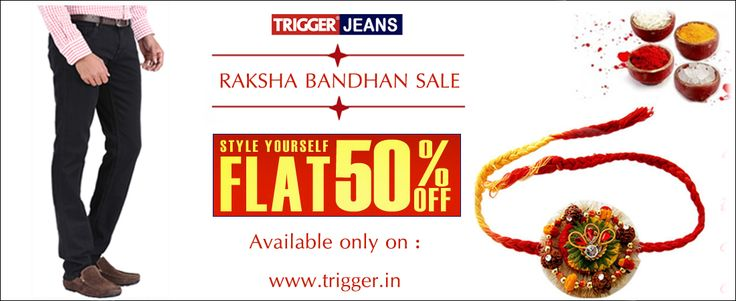 Branded trigger jeans present independence day special...  Available only on : www.trigger.in  Hurry up !!!