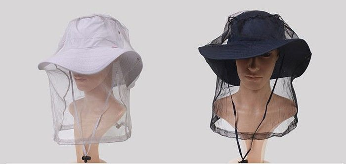outdoors head Mosquito Bug Insect Bee Mesh Head Net Protect Hat Fishing Camping Hunting hiking