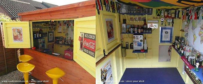 'Pub-Sheds' Quickly Becoming Hot Trend in Backyard Entertainment   Lighter Side of Real Estate