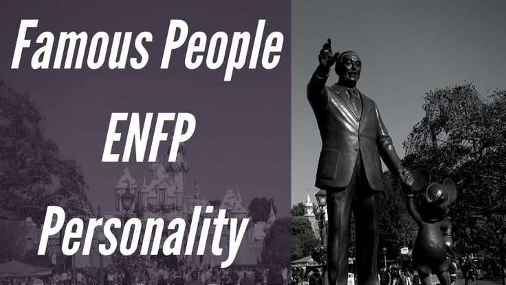ENFP Fictional Characters Personality types using the Myers Briggs Type Indicator (MBTI) See https://www.youtube.com/watch?v=Ek5anX6j5h8