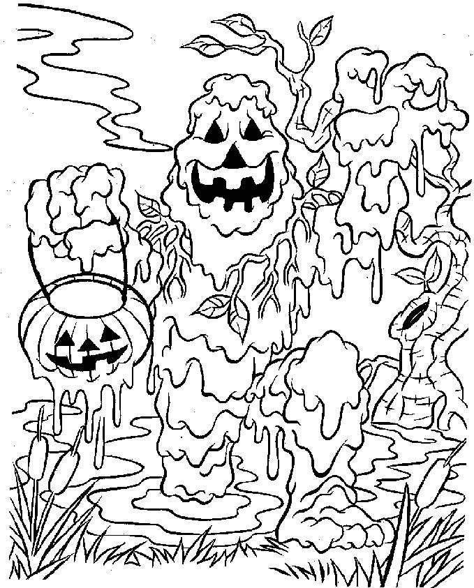 Printable Coloring Pages Halloween Very Scary Halloween Coloring Pages Free Prin Halloween Coloring Pages Monster Coloring Pages Scary Halloween Coloring Pages