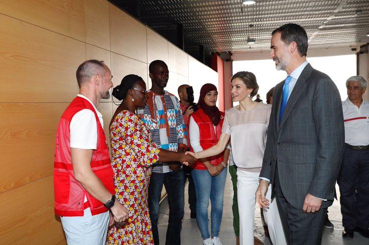 Foro Hispanico de Opiniones sobre la Realeza: Visita a la sede del Programa Mundial de Alimentos y Centro de Cooperación con África de Cruz Roja