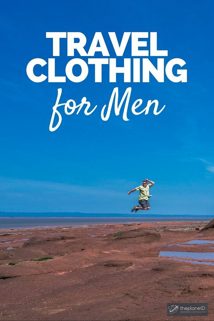 Looking Sharp in TravelSmith�s Men�s Travel Clothing | Men want to look great when they travel too. Last month we wrote about the best Mix and Match Travel Clothes for women, but we don�t want to leave out the guys | The Planet D: Canada's Adventure Trave