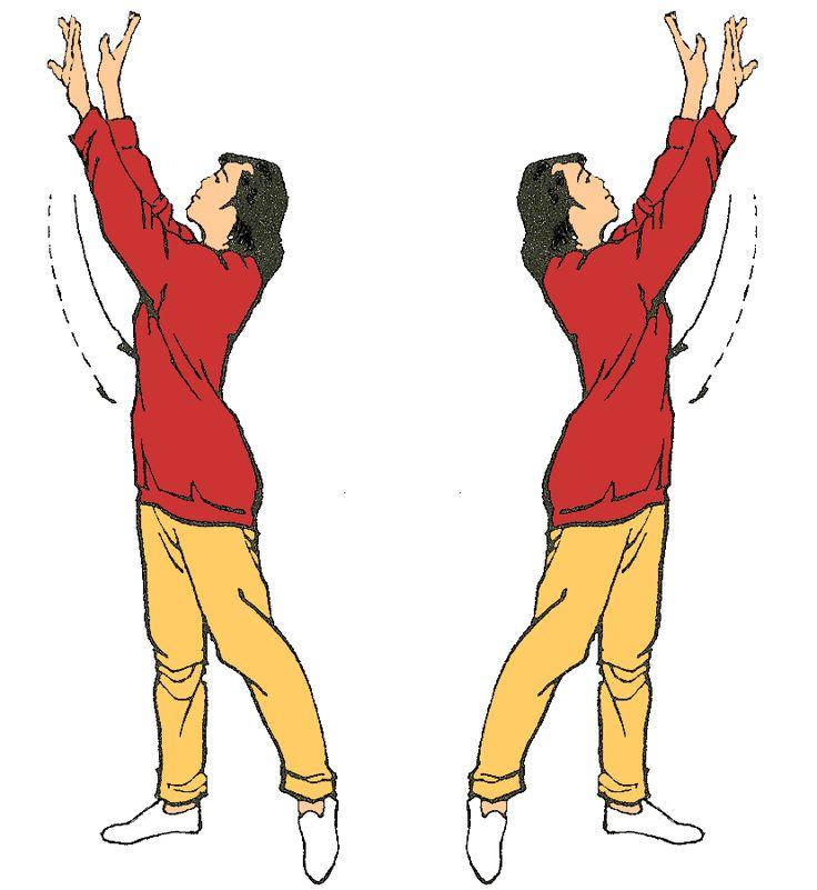 8. Girar el cuerpo para contemplar la luna Fortalece los riñones y estimula el…
