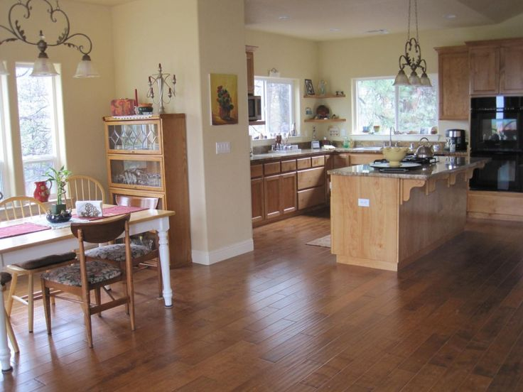 Dining Room Kitchen Combo Great Pic Ranch House Re Do