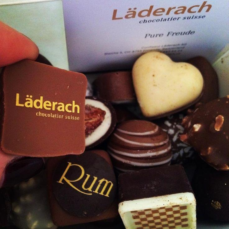 Laderach Chocolatier Suisse  #golosa #cioccolato #suisse