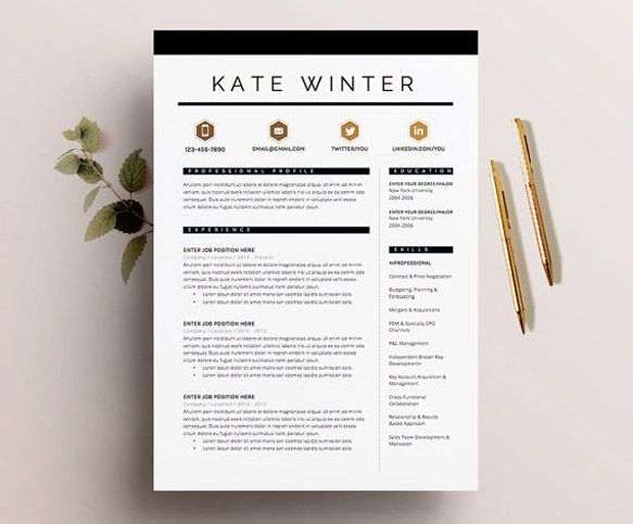 25 best Resume images on Pinterest Resume, Writing proposals and - curriculum vitae template free
