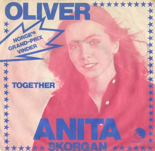 """Oliver"" performed by Anita Skorgan. Norway @ Eurovision 1979."