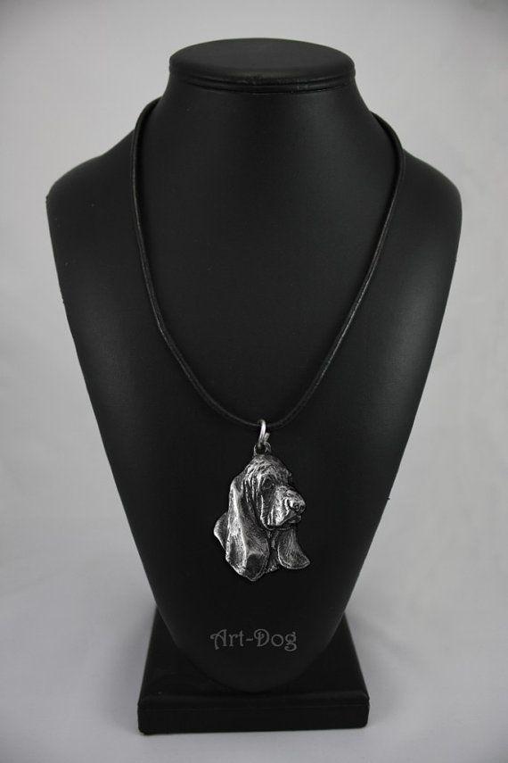 Basset Hound dog necklace limited edition by ArtDogshopcenter