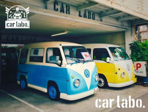 カスタムカー販売店「car labo.」ロゴの出来るまで。