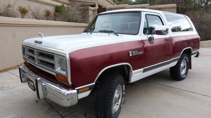 Pin By Chad Cordill On Dodge Ramcharger Daily In 2020 Dodge Ramcharger Dodge Dodge Trucks