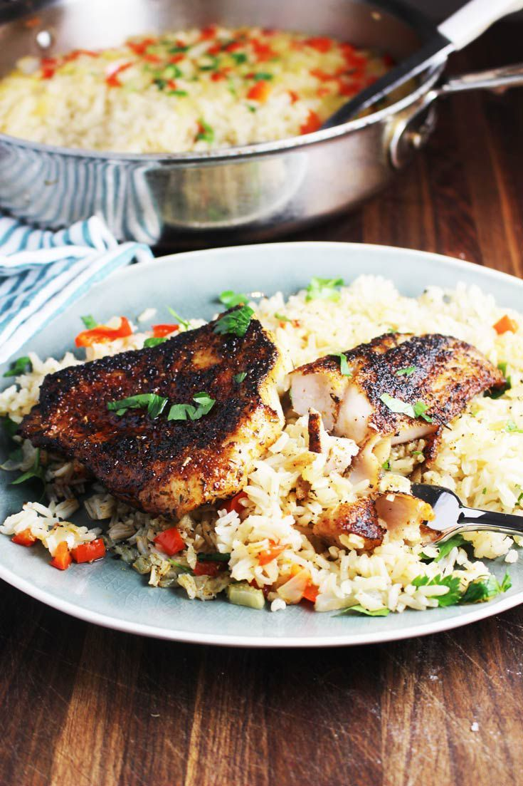 Cajun Blackened Fish – Seafood Recipes