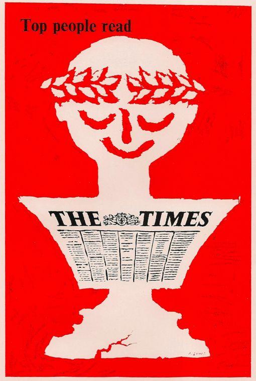 UK, Times Publishing Co., Maurice Levell (art director), Abram Games (artist)