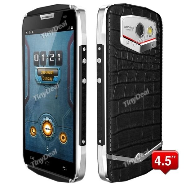 DOOGEE TITANS2 DG700 9% Off from TINYDEAL - Mobiles-Coupons