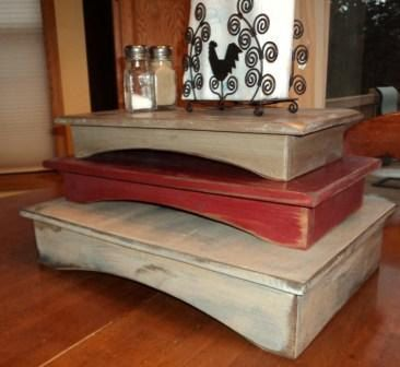 primitive table riser by wildoaks on etsy 2200. beautiful ideas. Home Design Ideas
