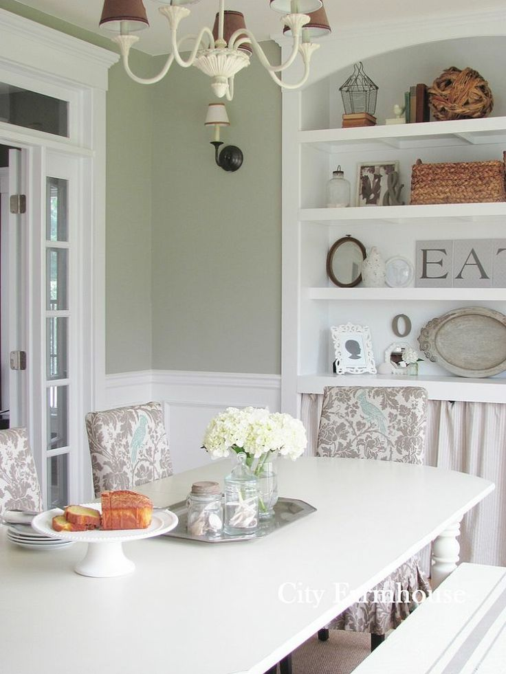 Budget Friendly Dining Room Reveal City FarmhouseFarmhouse RoomsKitchen DiningLowes Paint ColorsPaint