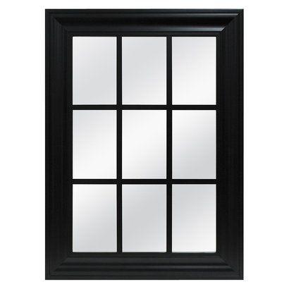 Window pane mirror for 16 pane window
