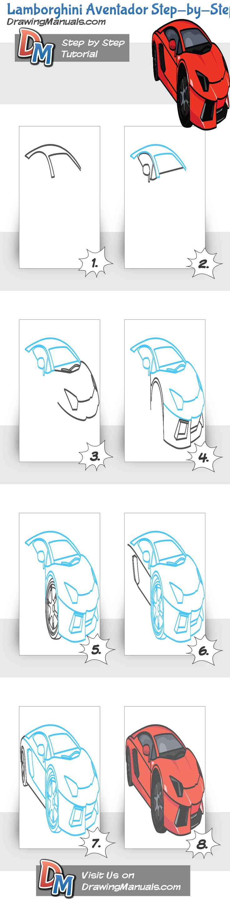 17 Best images about How to draw muscle cars on Pinterest ...