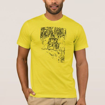 drawing tractor and nature T-Shirt - tap to personalize and get yours