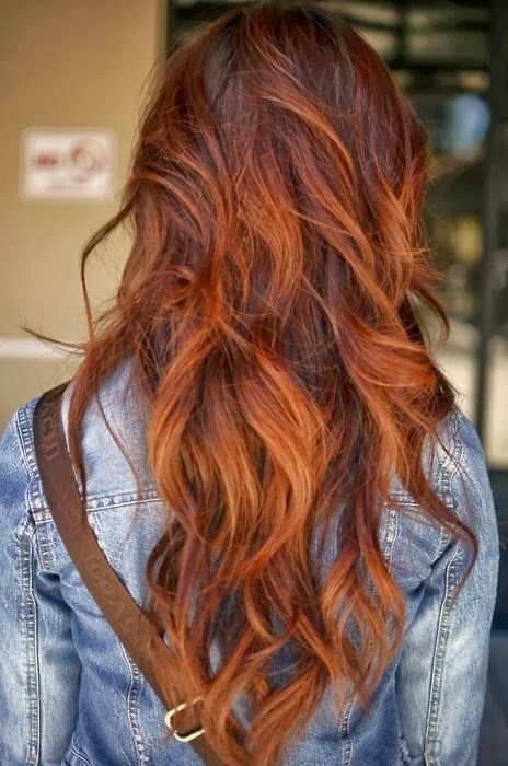 Brown/Red hair