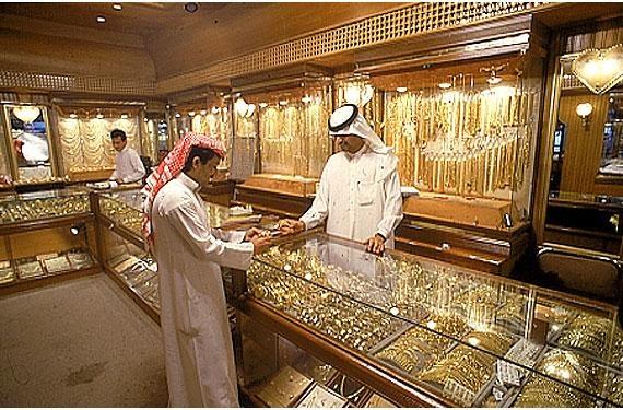 Gold Jewellery seller in Riyadh, Saudi Arabia