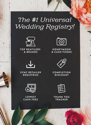 join over couples that have used blueprint registry for their universal wedding registry