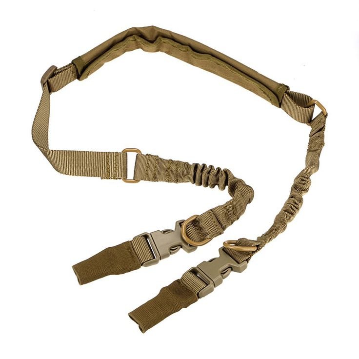 Nylon Metal Adjustable Hunting Tactical Sling Dual 2 Point Strap Multi Mission Rifle Gun Strap #Affiliate