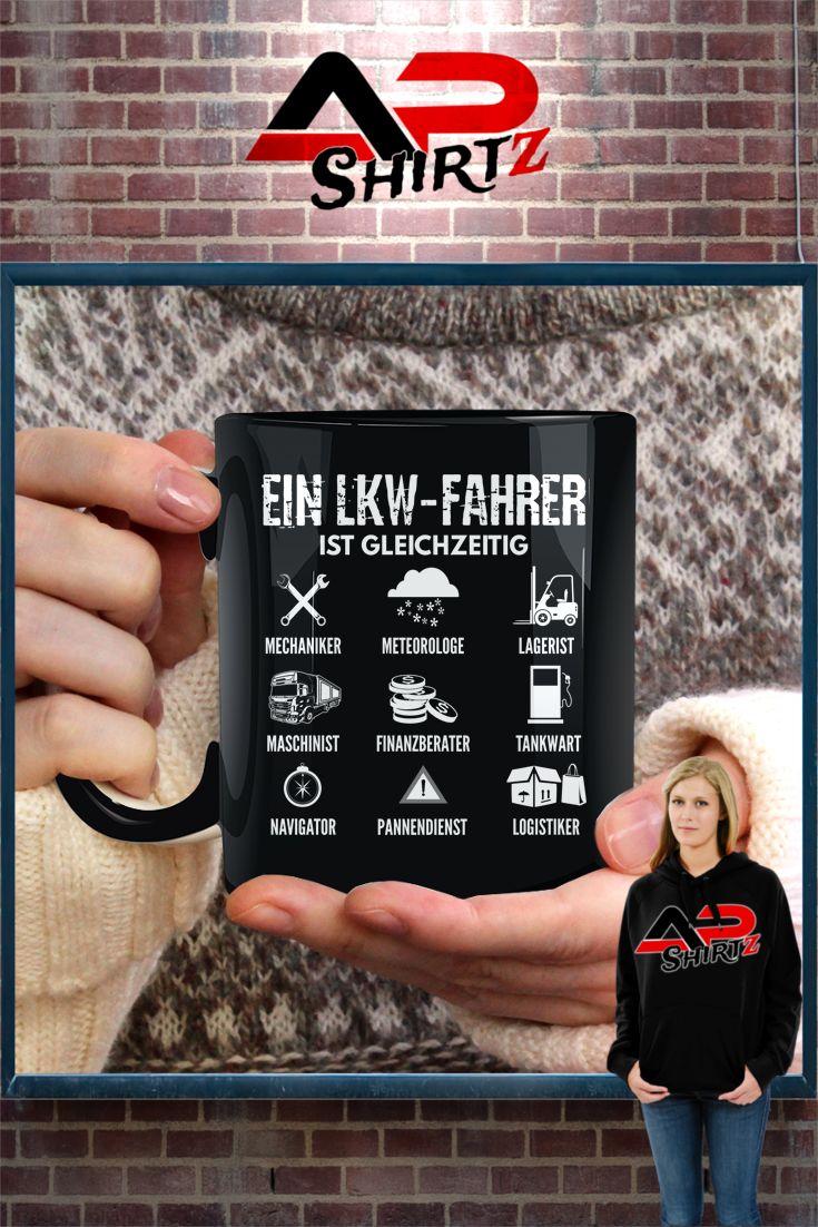 Ein LKW-Fahrer ist gleichzeitig auch ein...    Hier erhältlich: https://www.shirtee.de/aclkwalles <<<<     Sicherer Zahlungsverkehr     Qualitativ hochwertige Textilien     Versand aus Deutschland Weitere Designs im Shop:  http://brummishop.shirtee.de <<<<<<