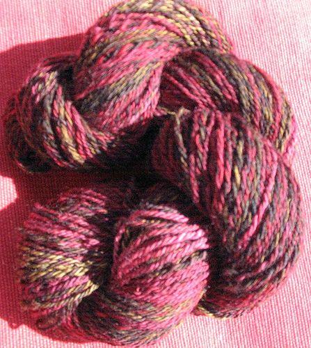 Handspun yarn, SCF Hunter Valley #handspun